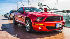 Ford Mustang Shelby GT500 (Q. Martinez) Tags: red españa ford beautiful canon puerto rouge eos amazing spain shelby mustang 500 gt espagne supercar luxe luxurious américain banús 550d qentmart
