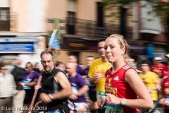 Maratn Madrid 2013 (luisephoto) Tags: madrid espaa mujer europa gente social retratos deportes maratn robados