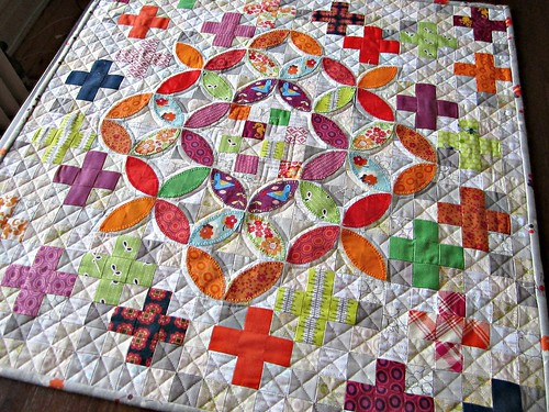 FLiQS April 2013 quilting shot