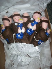Buqu de Santo Antnio para uma noivinha de So Paulo!!!! (artenavitrine26) Tags: de feltro santo buqu antnio