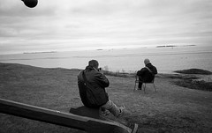 Unbearable Lightness Of Being (A.Enbck) Tags: leica film suomi finland blackwhite helsinki delta 100 ilford ddx