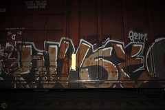 Wyse (Revise_D) Tags: railroad graffiti tagging d30 freight revised trainart fr8 wyse benched a2m benching fr8heaven