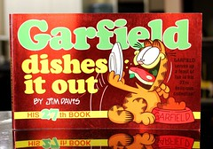 Garfield Dishes it Out (Vernon Barford School Library) Tags: new school cats cat comics out reading book high feline humorous comic dish library libraries humor cartoon reads jim books it humour read paperback cover seven junior felines comicstrip covers bookcover dishes seventh middle davis 27 vernon garfield cartoons recent twenty bookcovers nonfiction 27th paperbacks comicstrips jimdavis humourous barford twentyseven softcover twentyseventh vernonbarford softcovers 0345392876