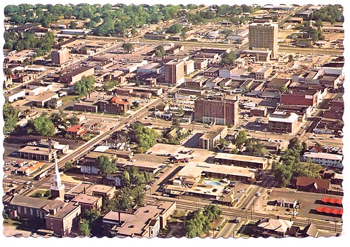 Florence SC Downtown Aerial 1972 - a photo on Flickriver