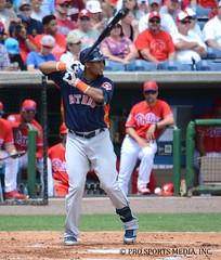 Carlos Gomez (Buck Davidson) Tags: training major spring baseball houston carlos astros buck davidson gomez league 2016 nikond7100