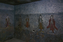 Reconstitution du tombeau du roi Kongmin (jonathanung@ymail.com) Tags: lumix asia korea asie nord northkorea corée dprk cm1 koryo coréedunord kongmin insidenorthkorea républiquepopulairedémocratiquedecorée rpdc seonggyungwan lumixcm1