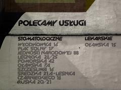 Wrocaw (isoglosse) Tags: sign poland polska schild polen sansserif wrocaw breslau znak kreska u0141 type:face=newzelek
