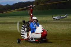 G-AXVM.Popham300416 (MarkP51) Tags: plane airplane nikon general image aircraft aviation cricket campbell popham airfield autogyro d7100 gaxvm eghp markp51