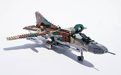 Mikoyan-Gurevich MiG-23M Flogger-B - 9 (Kenneth-V) Tags: cold scale plane airplane model war fighter lego aircraft aviation military air planes finished flogger airforce russian mig 136 gurevich mikoyan mig23 moc floggerb mig23m
