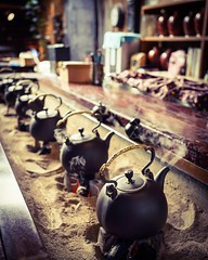 A cup of tea (Kevtsui) Tags: china travel cup zeiss 35mm cafe tea smoke sony sunday taiwan coffeehouse  teahouse tw  chinesetea rx1 rx1r