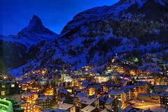 Zermatt Blues (hapulcu) Tags: winter sunset alps schweiz switzerland suisse suiza dusk gornergrat zermatt matterhorn svizzera wallis valais cervinia cervin