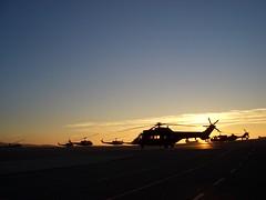 PIC (3) (Antonio Prez .) Tags: atardecer spain cougar pista ocaso helicptero crepsculo superpuma colmenarviejo
