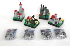 Guild Creation: Prizes (soccersnyderi) Tags: castle landscape town model lego farm medieval creation micro moc