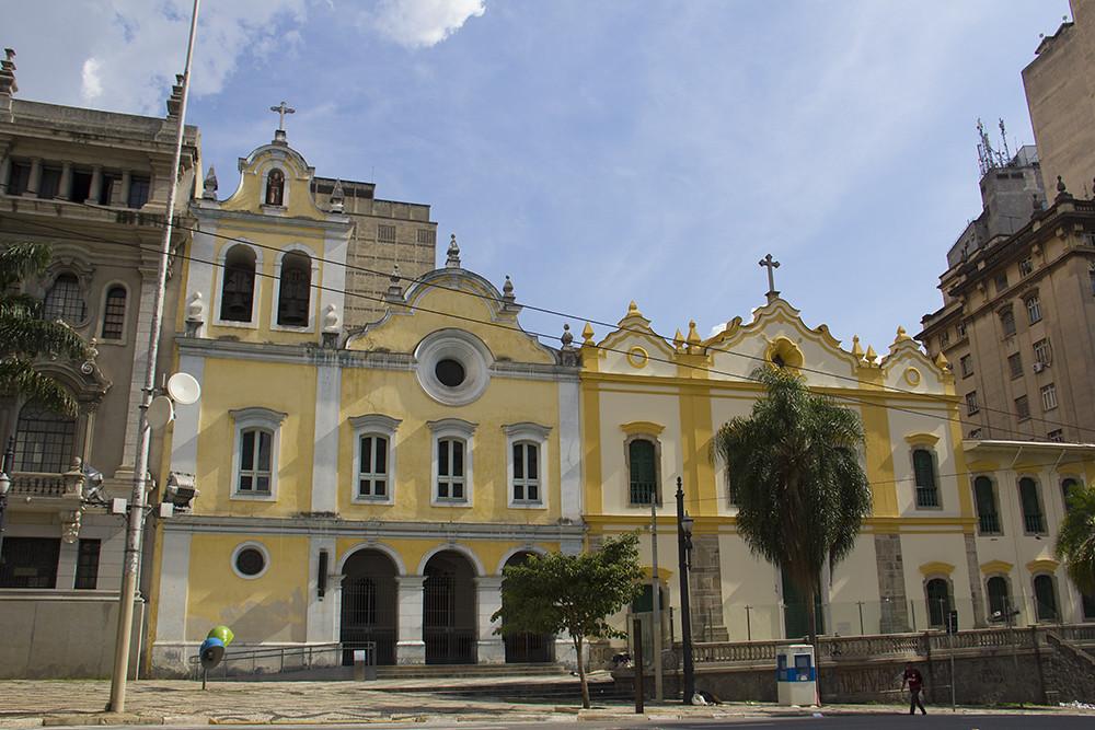 Tour Centro Histórico de São Paulo - Paróquia de São Francisco de Assis
