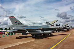 J-630 General Dynamics F-16AM Fighting Falcon, Royal Netherlands Air Force, RAF Fairford, Gloucestershire (Kev Slade) Tags: gloucestershire f16 generaldynamics raffairford fightingfalcon royalnetherlandsairforce f16am egva j630 riat2010