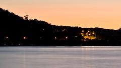 Daybreak at Tascott (Merrillie) Tags: road longexposure pink sea sky water sunrise boats dawn lights bay nikon marine scenery waterfront australia views nsw daybreak tascott brisbanewater seaviews d5500 nswcentralcoast centralcoastnsw