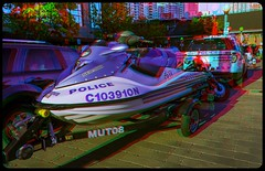 Police Boat 3-D ::: HDR/Raw Anaglyph Stereoscopy (Stereotron) Tags: toronto ontario canada america radio canon eos boat stereoscopic stereophoto stereophotography 3d downtown raw control harbour north kitlens police twin anaglyph stereo shore stereoview to remote spatial 1855mm lakeontario hdr province redgreen tdot 3dglasses hdri transmitter stereoscopy synch anaglyphic optimized in threedimensional hogtown stereo3d thequeencity cr2 stereophotograph anabuilder thebigsmoke synchron redcyan 3rddimension 3dimage tonemapping 3dphoto 550d torontonian stereophotomaker 3dstereo 3dpicture anaglyph3d yongnuo stereotron c103910n