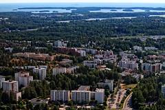 Lnsimki / Mellunmki (ri Sa) Tags: street trees sea cars water buildings finland islands helsinki gulf horizon baltic vantaa mellunmki lnsimki