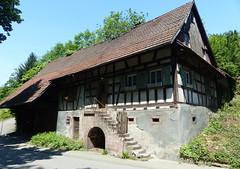 Ortenau-Wein-Wanderweg - Fachwerkhaus in Neusatz (thobern1) Tags: ortenau wanderweg wein weinwanderweg badenbaden neusatz badenwrttemberg germany blackforest schwarzwald