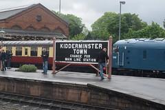 Kidderminster Town (Midland Red FanBoy) Tags: travel england train trains transportation severnvalleyrailway kidderminster passengertrains severnvalleyrailwayspringdieselgala