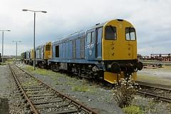 BRITISH RAIL 20117 (bobbyblack51) Tags: english electric 1 all diesel transport bobo class type depot british locomotive 1992 20 railways types 20117 thornaby of
