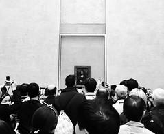 Mona Lisa Madness (annie_ace) Tags: travel paris france art painting europe louvre monalisa monalisasmile leonardodavinci louvremuseum visitparis toomuchhype iphoneography uploaded:by=instagram monalisamadness