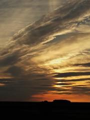 Sunrise Off the Coast at Dunbar - Scotland (Gilli8888) Tags: sunrise torness dunbar scotland coast coastline sun sea seaside clouds silhouette