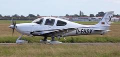 Cirrus SR22 D-EHSV Lee on Solent Airfield 2016 (SupaSmokey) Tags: lee solent cirrus airfield sr22 2016 dehsv