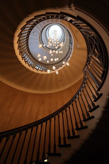 The only way is up! (pooly7) Tags: city london stairs circle spiral golden design movement interior perspective staircase londres winding escargot escalier spirale heal colimasson