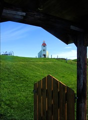Towards the church... (mau_tweety) Tags: church iceland meadow chiesa prato islanda