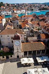 Vakantie Kroati & Sloveni 2015 (redijkstra) Tags: vakantie uitzicht plein kerk trogir daken kroati