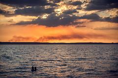 Sunset in the sea (Un par de peras) Tags: airelibre cielo mar serenidad puesta de sol agua puestadesol caribe cienfuegos cienfuegoscuba cuba marcaribe caribbean caribbeanisland sunset sunsetinthesea sunsetinthebeach amor love couple magic