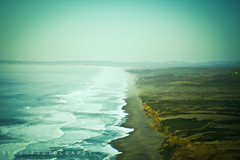 ... (reny :: honey) Tags: ocean sea beach nature water northerncalifornia zeiss canon view earth marin horizon 85mm images hike cliffs shore land getty 5d pointreyes seafoam planar nationalseashore