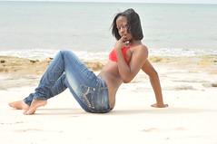DSC_3203 (vaughnscriven) Tags: red sea beach water girl youth fun rocks sam bra young fresh teen bahamas pure 2010 redbra vaughnscriven vaughnscrivenphotography