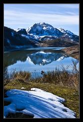 Espejo de la naturaleza (Chus Ochoa) Tags: espaa naturaleza nature landscape spain paisaje len embalse castillaylen riao mygearandme mygearandmepremium