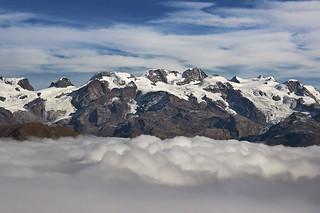 La catena del Monte Rosa