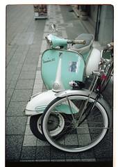 Nice bikes (pearl`s) Tags: 35mm kodak f14 portra summilux asph m7 160