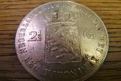 Rijksdaalder (Michiel2005) Tags: holland netherlands silver coin coins nederland 50 gulden munt florijn guilder zilver munten 2 realmoney rijksdaalder ryksdaalder