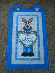 Panô de Páscoa (Zion Artes por Silvana Dias) Tags: quilt páscoa patchwork coelho panô panodepáscoa zionartes