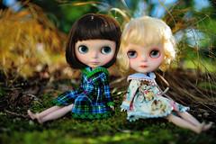 ~Friendship~ (jessi.bryan) Tags: spring doll sewing blythe meimei fbl ebl customblythe fancypansy montlakefill wingsinflight blythecoat blythejacket vainilladolly meimeicustom