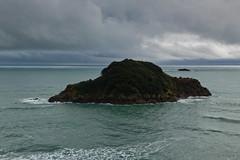 Sugar Loaf Islands (russellstreet) Tags: newzealand cloud stormclouds nzl taranaki newplymouth ngamotu sugarloafislands
