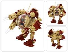 Redeemer (Bart De Dobbelaer) Tags: lego space hex bot mech