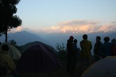 Mountain veiws on a Multi sport treking Mountain biking rafting kayaking trip in Nepal