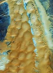 Earth from Space: Algerian sands (europeanspaceagency) Tags: algeria european agency esa saharadesert europeanspaceagency taghit bechar eusi ikonos2