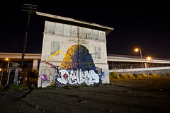 Deuce7 (Jeffrey-Anthony) Tags: california ca longexposure graffiti oakland nightshot bayarea eastbay 27 twentyseven deuceseven deuce7 jeffreyanthony