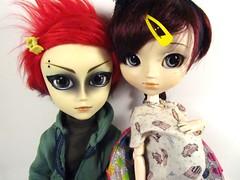 ~Twins~ (hillary795) Tags: doll pullip kaela hash pullipdoll taeyang taeyanghash pullipkaela pullipdollkaela taeyanghashdoll