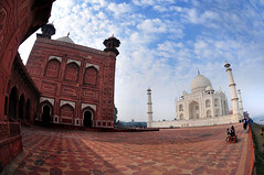 [city] Agra :: Taj Mahal : 17
