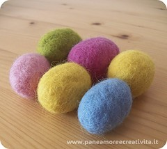 Tutorial felting eggs