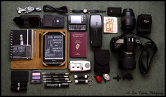 In My Bag Today (Lisa Tiffany Photography) Tags: nikon ipod reader torches sony makeup samsung leds chanel packed inspiredbyflickr smashbox girlphotographer inmybagtoday d7000 afullbag mygearandme ringexcellence sonyprst1 settingoffout