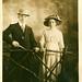 Elegant Edwardian couple